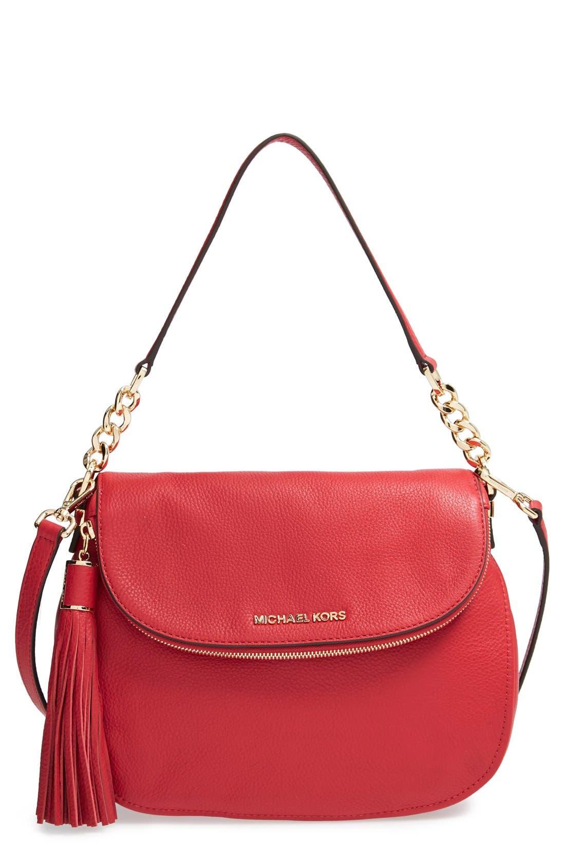 ,                             'Bedford Tassel - Medium' Convertible Leather Shoulder Bag,                             Main thumbnail 44, color,                             613