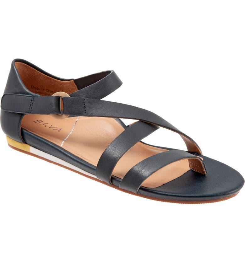SAVA Chelsea Sandal, Main, color, NAVY