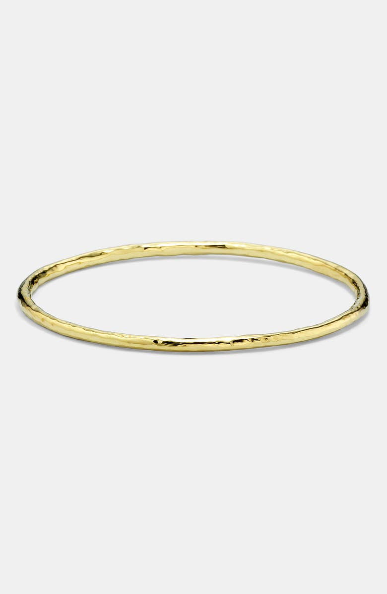 IPPOLITA 'Glamazon' 18k Gold Bangle, Main, color, YELLOW GOLD