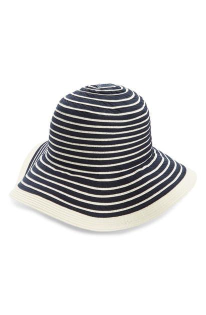 Barbour SEALAND STRIPE SUN HAT
