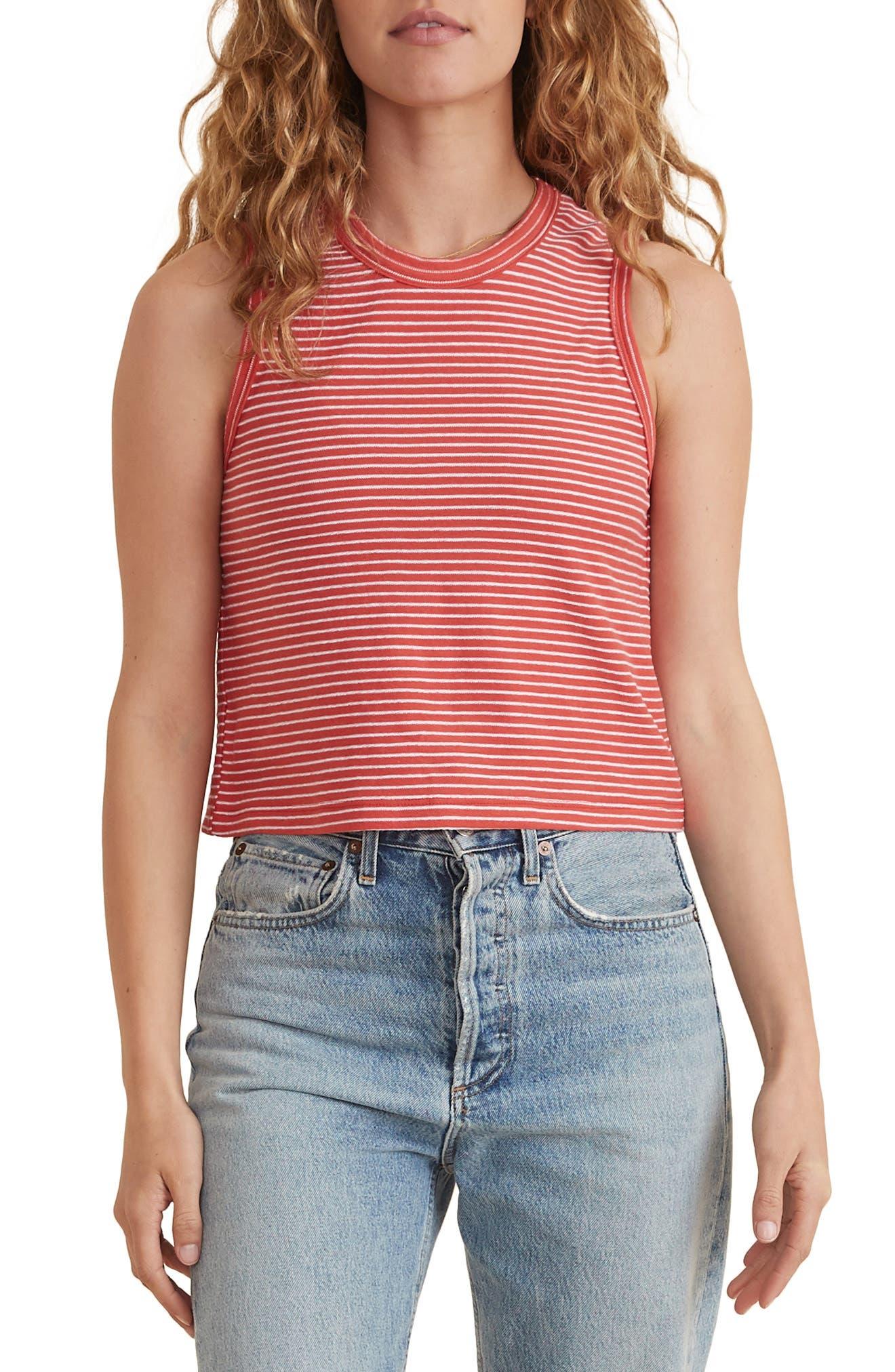 Lydia Texture Stripe T-Shirt