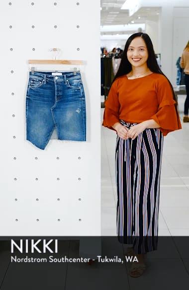 The Tomcat Slide Asymmetrical Fray Hem Skirt, sales video thumbnail