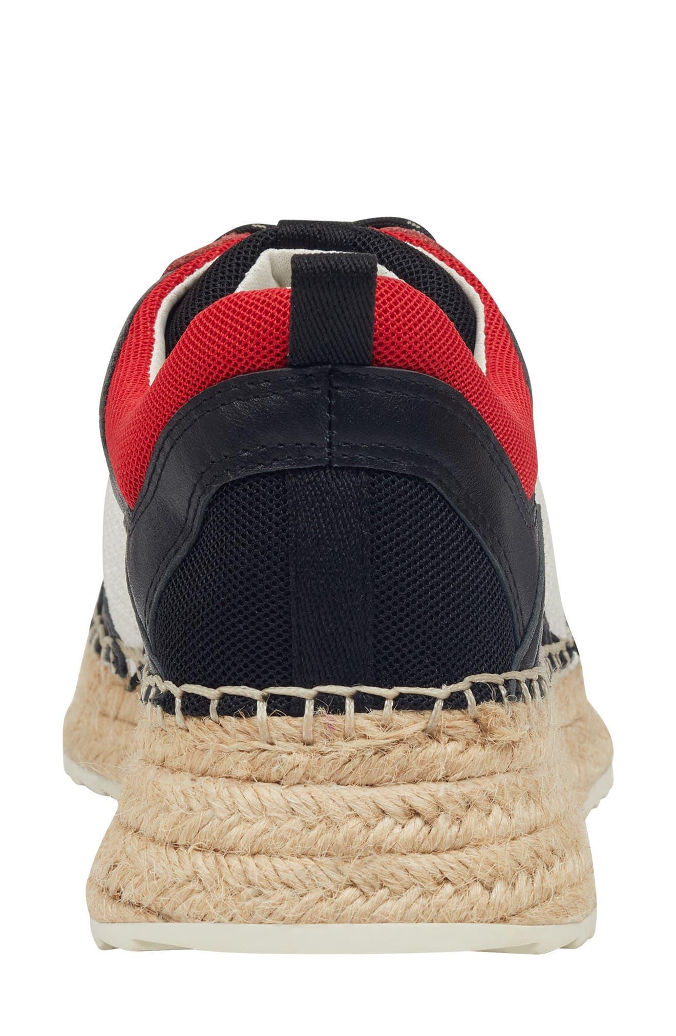 ,                             Janette Espadrille Sneaker,                             Alternate thumbnail 7, color,                             001