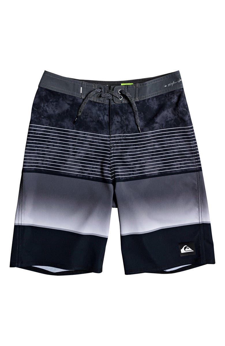 QUIKSILVER Highline Slab Board Shorts, Main, color, BLACK