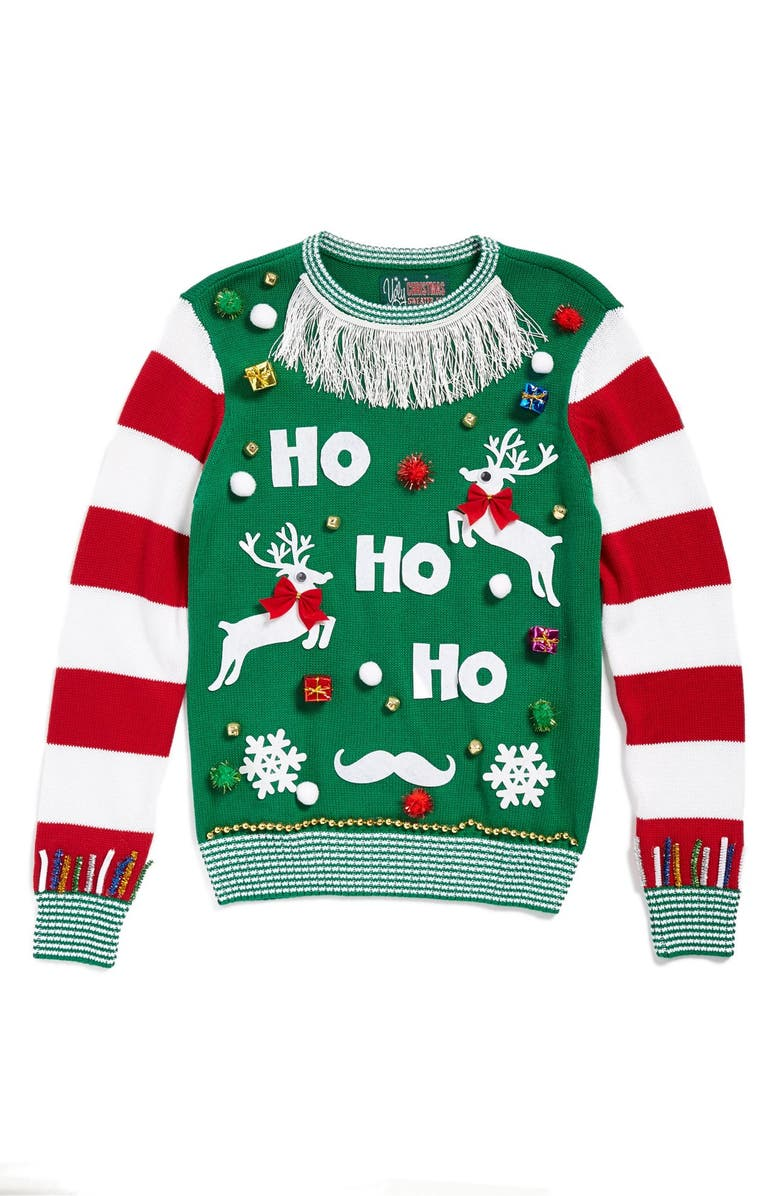 UGLY CHRISTMAS SWEATER 'Make Your Own Ugly Christmas Sweater' Kit, Main, color, 307