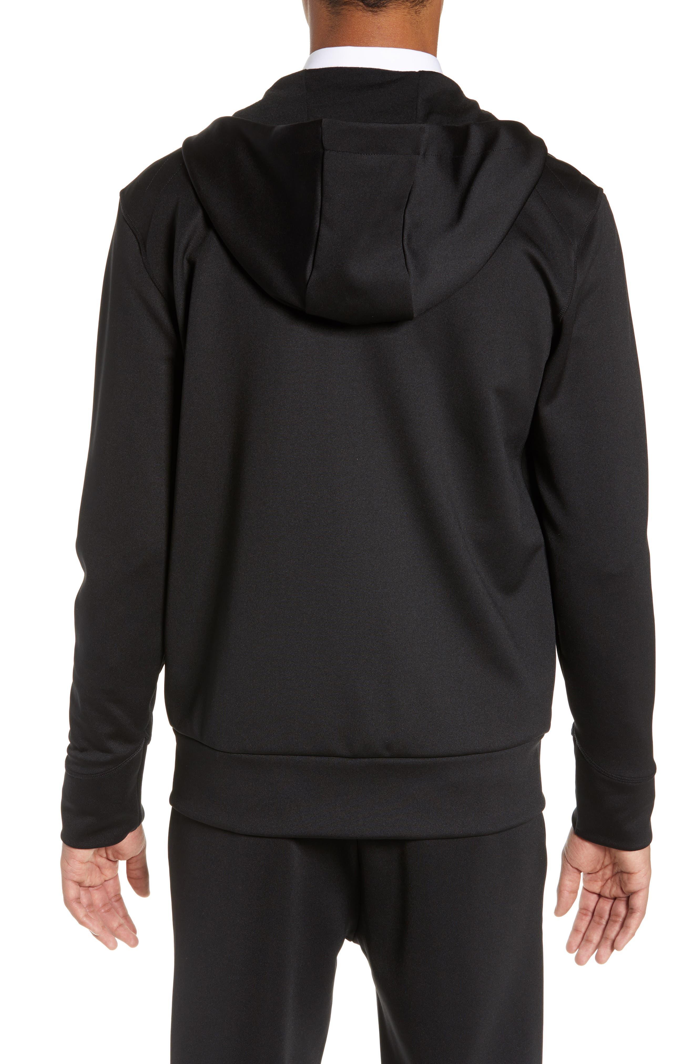 ,                             Dantony Regular Fit Zip Hoodie,                             Alternate thumbnail 2, color,                             BLACK