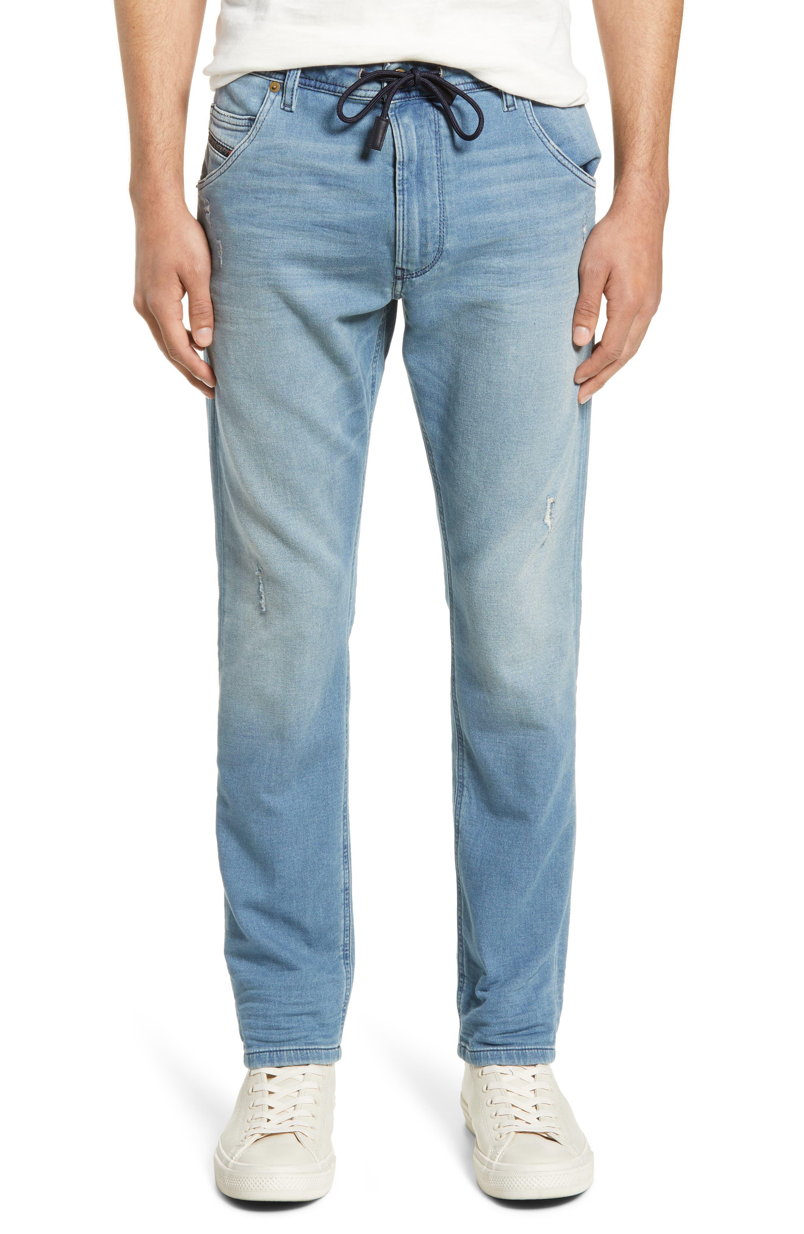 ,                             Krooley Jogg Slouchy Skinny Fit Jeans,                             Main thumbnail 1, color,                             086AY