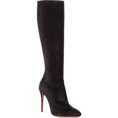 Christian Louboutin Eloise Knee High Boot - Black