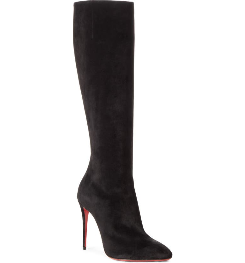 CHRISTIAN LOUBOUTIN Eloise Knee High Boot, Main, color, 001