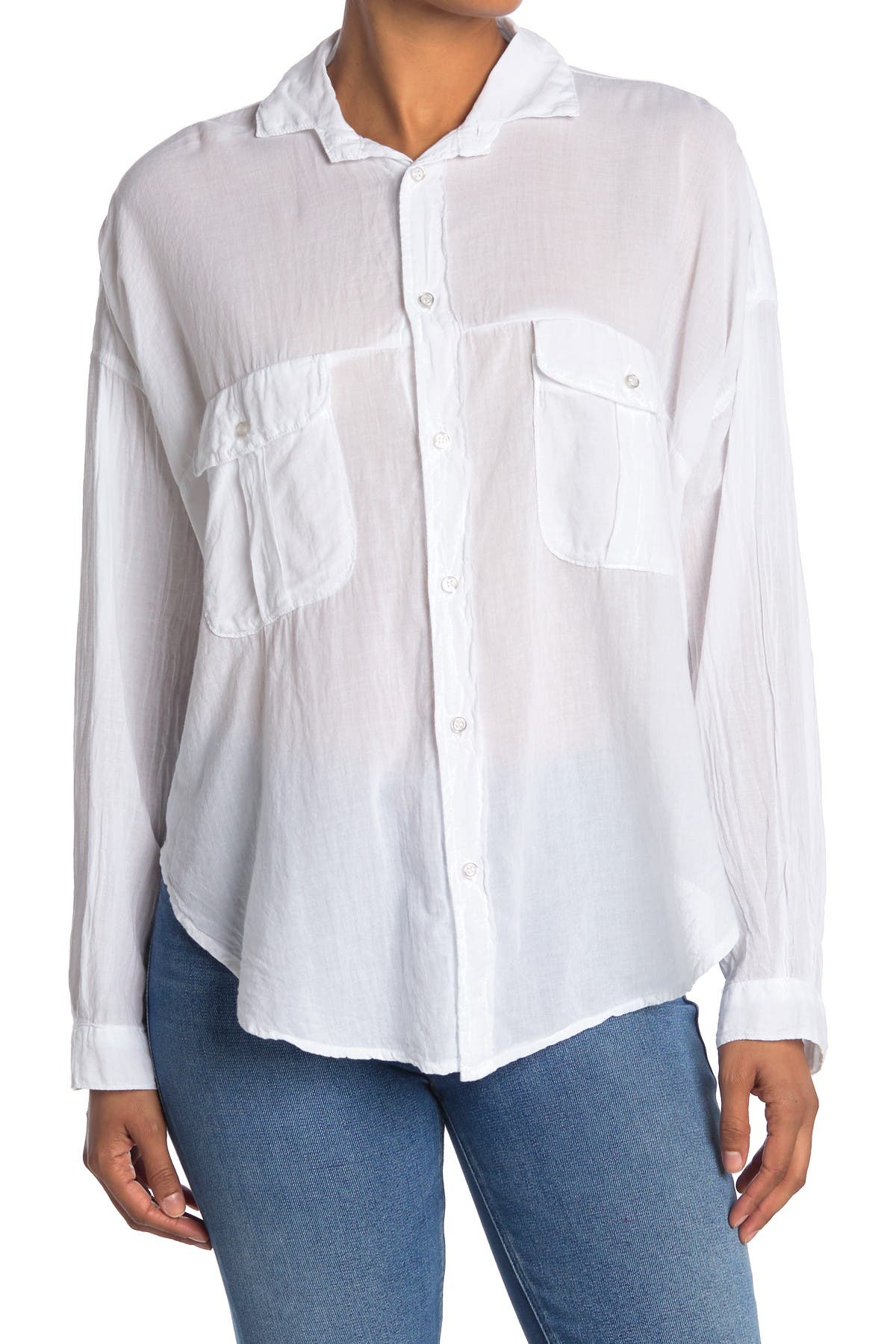 Image of NSF CLOTHING Marci Safari Button Down Shirt