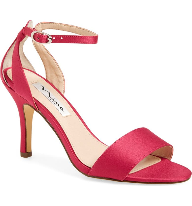 NINA 'Venetia' Ankle Strap Sandal, Main, color, 657