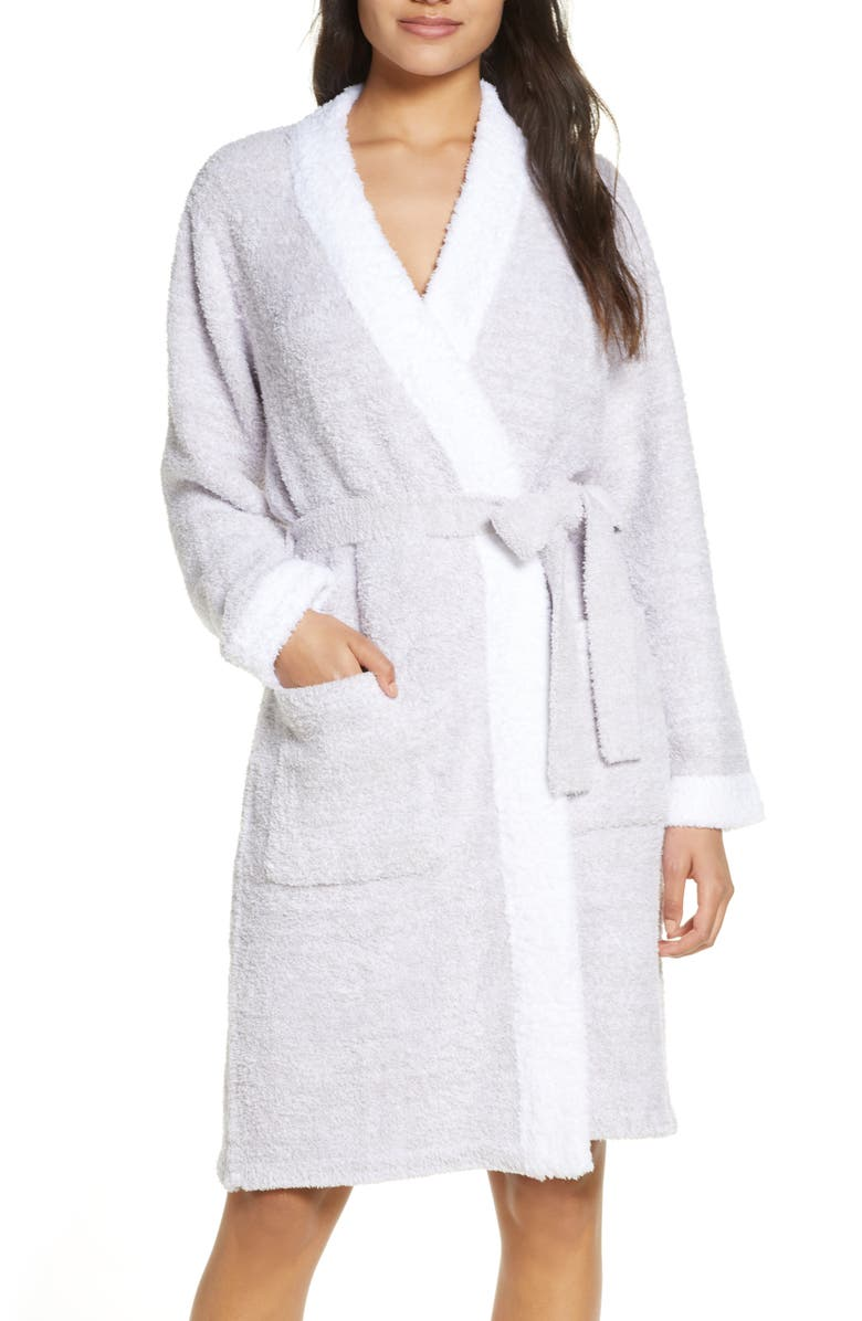 BAREFOOT DREAMS<SUP>®</SUP> CozyChic<sup>™</sup> Short Robe, Main, color, 020