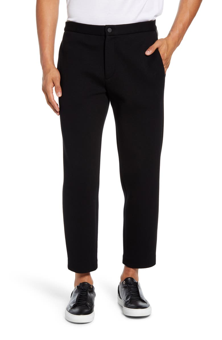 THEORY Dive Scuba Rib Pants, Main, color, BLACK/ BLACK