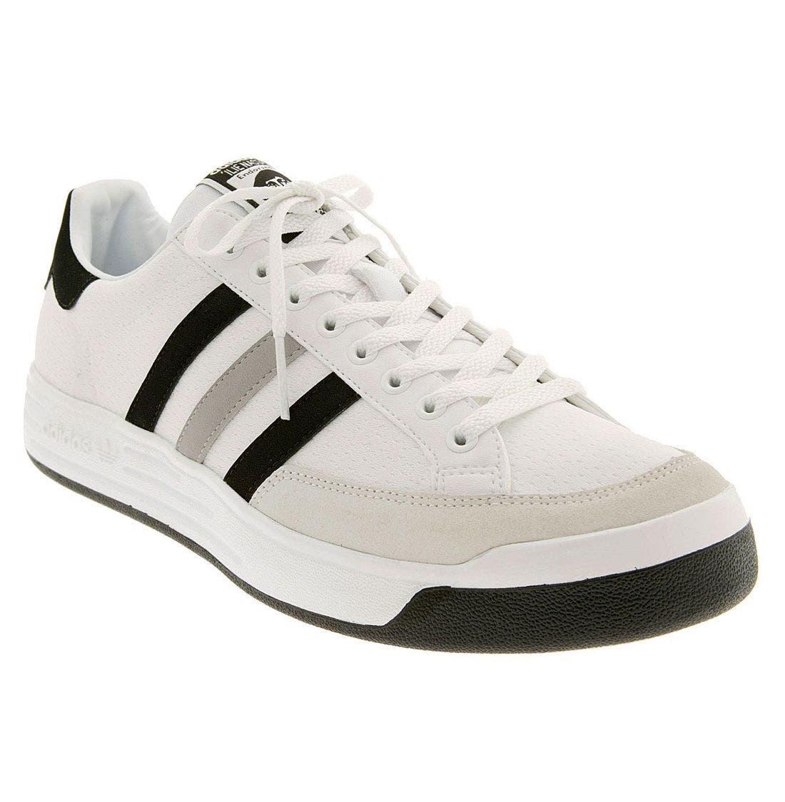Retro Adidas Ilie Nastase 519076 White Greens Low Top Mens