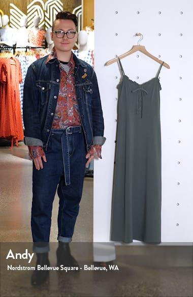 Lace Up Midi Dress, sales video thumbnail