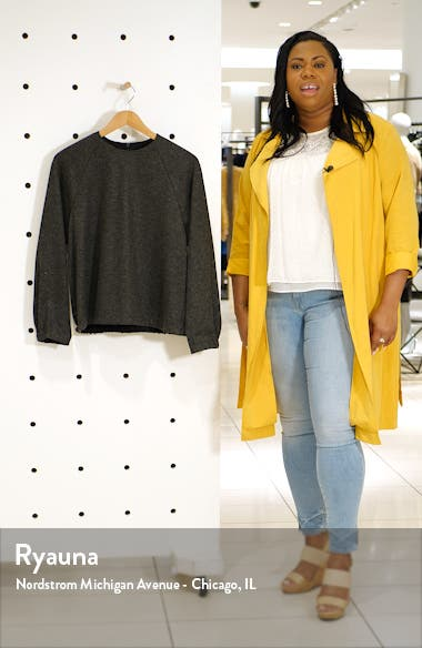 Blouson Sleeve Crop Top, sales video thumbnail
