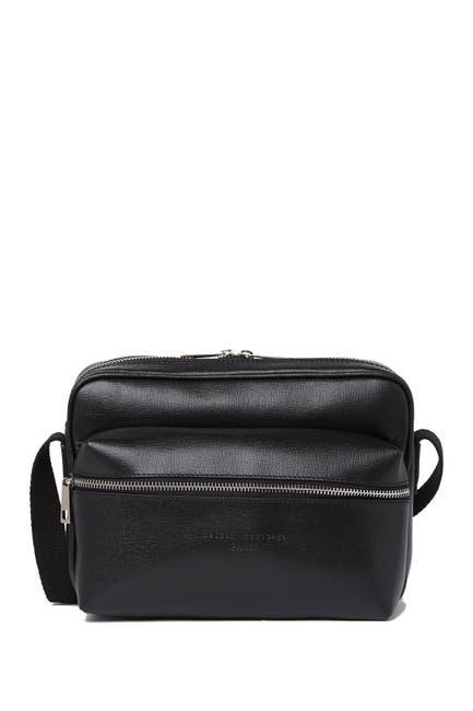 Image of Maison Heritage Leather Shoulder Bag