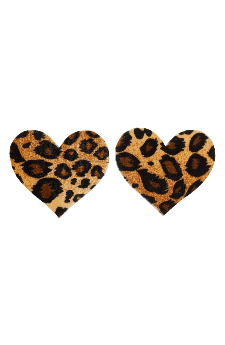 BRISTOLS 6 Nippies by Bristols Six Animal Print Nipple Covers, Main, color, ANIMAL