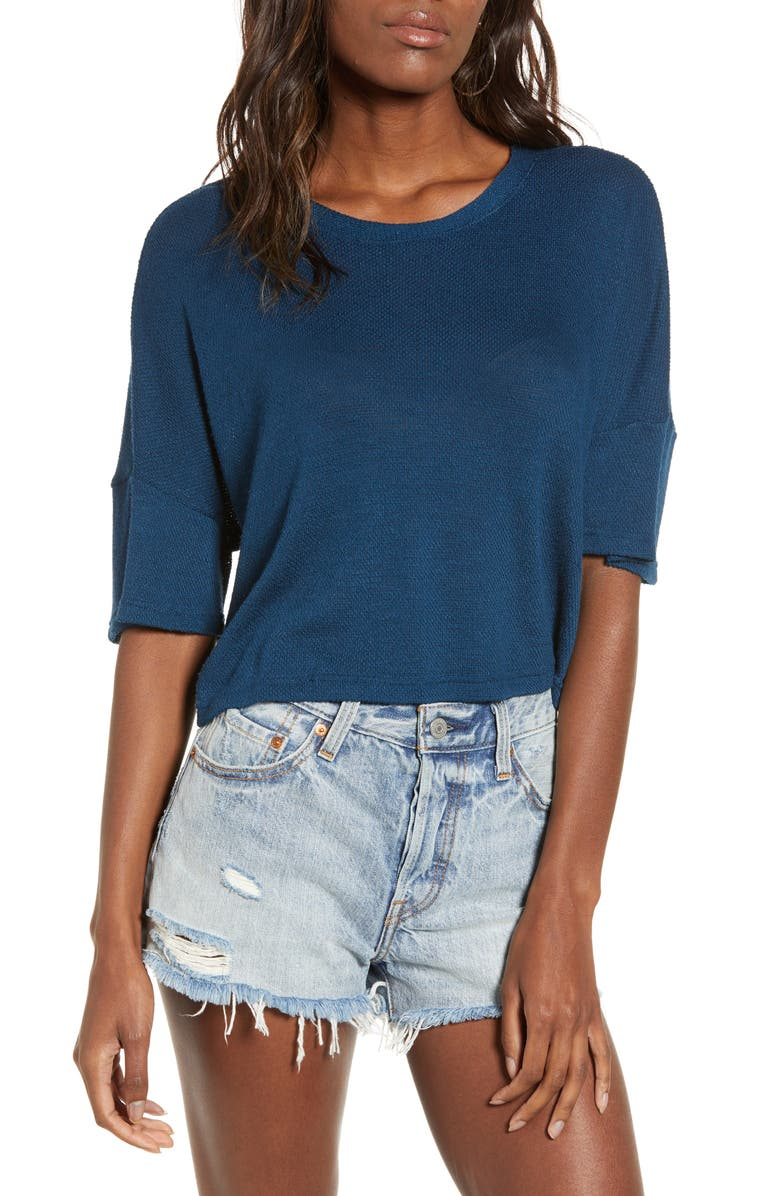 NOISY MAY Preston Crop Top, Main, color, 405