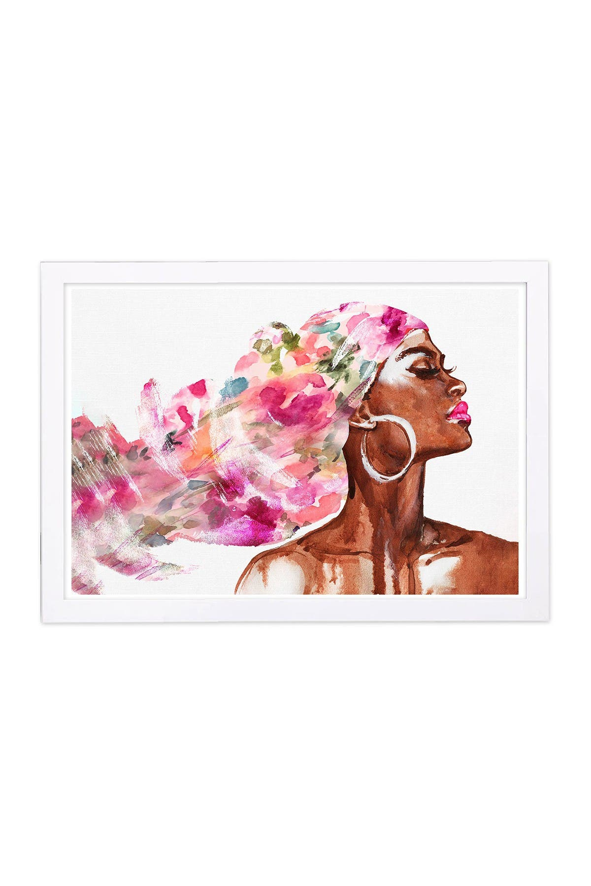 Wynwood Studio Mother Earth Floral Pink Framed Wall Art at Nordstrom Rack