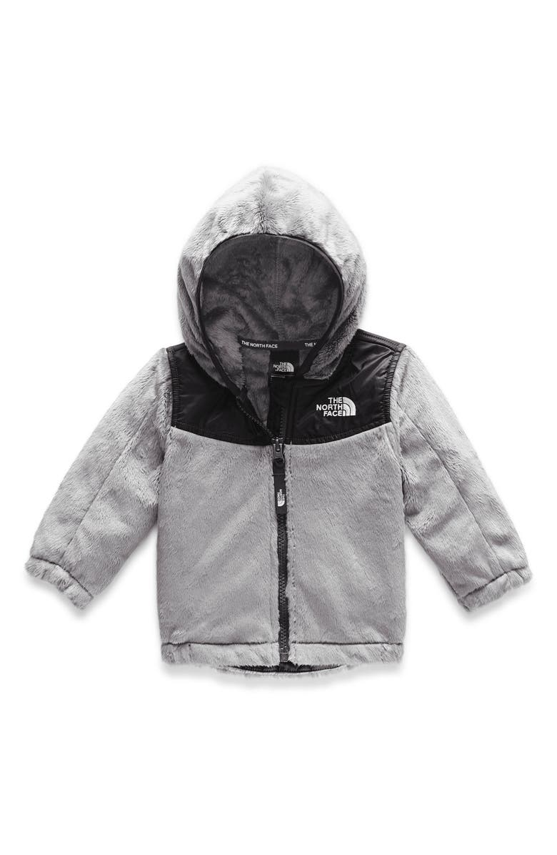 THE NORTH FACE Oso Hooded Fleece Jacket, Main, color, MELD GREY