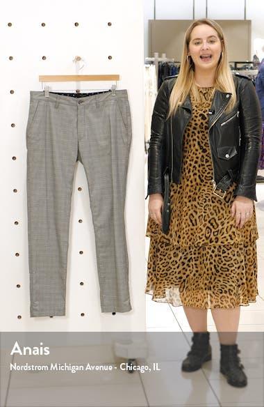 Slim Fit Check Pants, sales video thumbnail