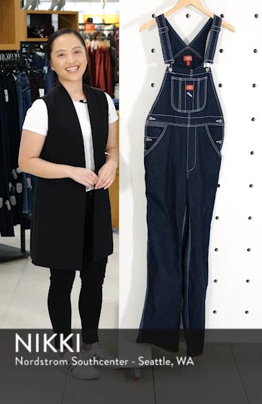 Relaxed Fit Denim Overalls, sales video thumbnail