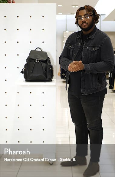 Betty Faux Leather Backpack, sales video thumbnail