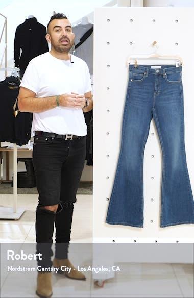 Jamie High Waist Flare Leg Jeans, sales video thumbnail