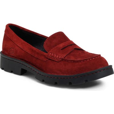 B?rn Loire Penny Loafer, Red