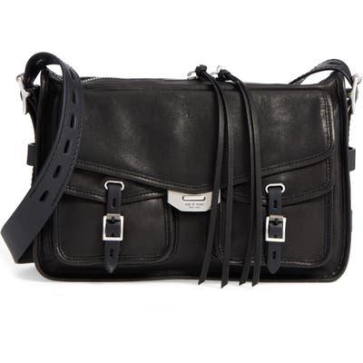 Rag & Bone Field Leather Messenger Bag - Black