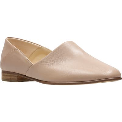Clarks Pure Tone Flat, Pink