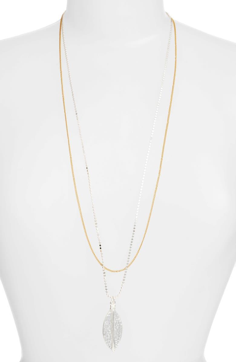KARINE SULTAN Long Multistrand Necklace, Main, color, 041
