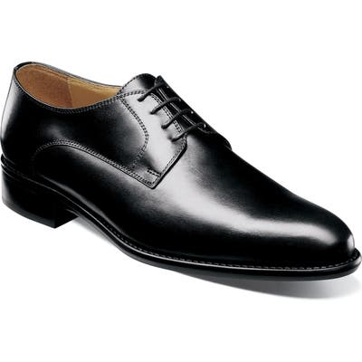 Florsheim Imperial Hart Plain Toe Derby, Black