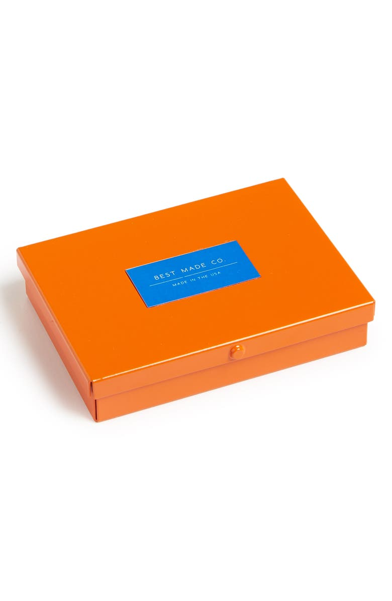 BEST MADE CO. The Pocket Strongbox, Main, color, STANDARD ORANGE