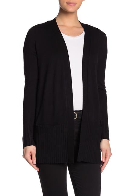 Image of Cyrus Ribbed Sleeve Cozy Pocket Cardigan