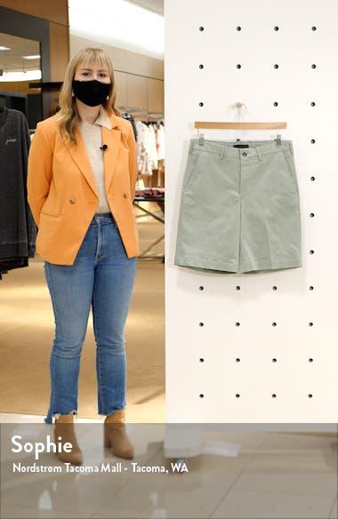 Men's Classic Flat Front Chino Shorts, sales video thumbnail