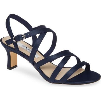 Nina Genaya Strappy Evening Sandal- Blue