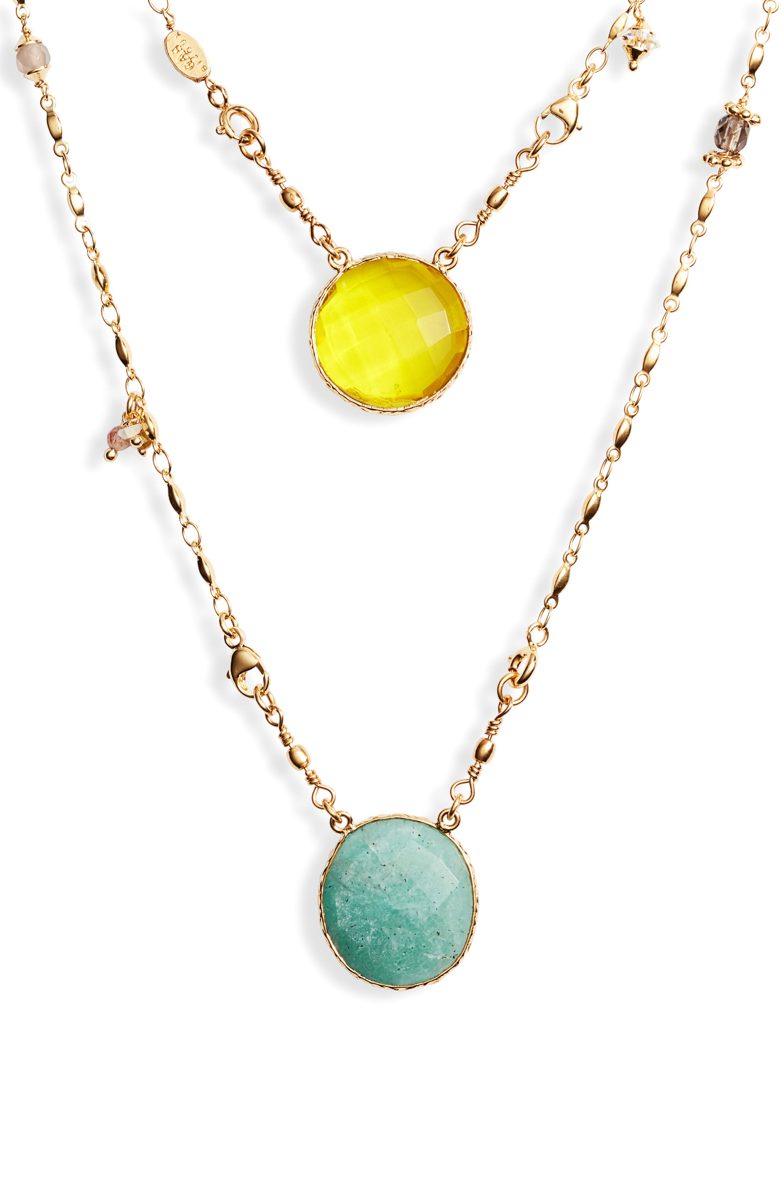 ,                             Scapulaire Convertible Pendant Necklace,                             Alternate thumbnail 2, color,                             YELLOW