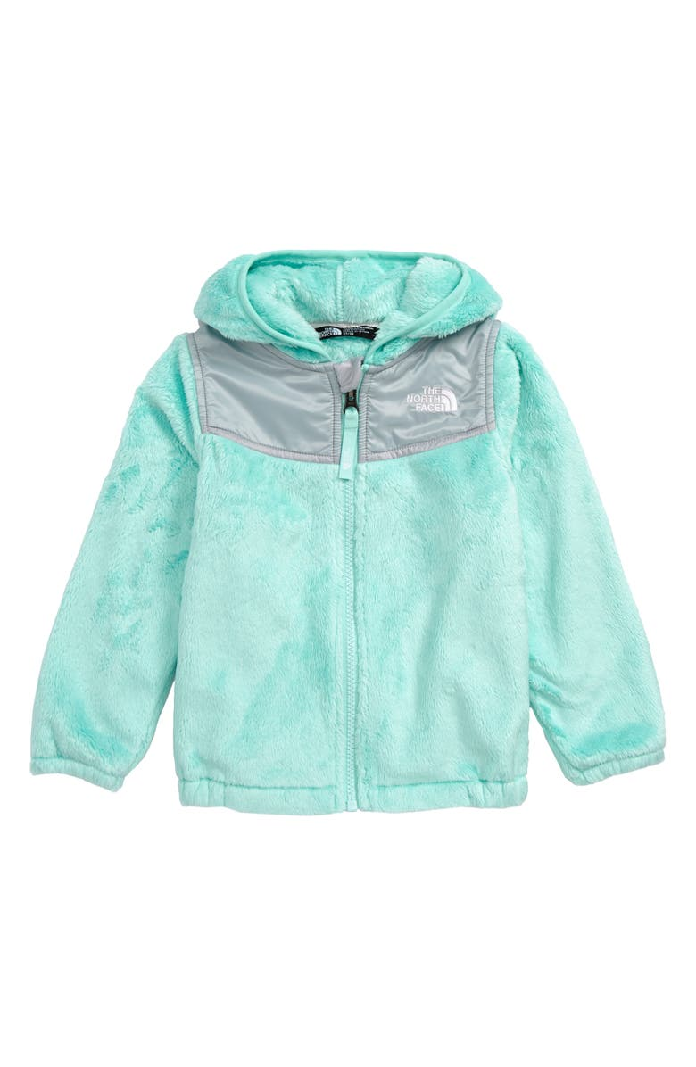 THE NORTH FACE Oso Fleece Hoodie, Main, color, BEACH GLASS GREEN