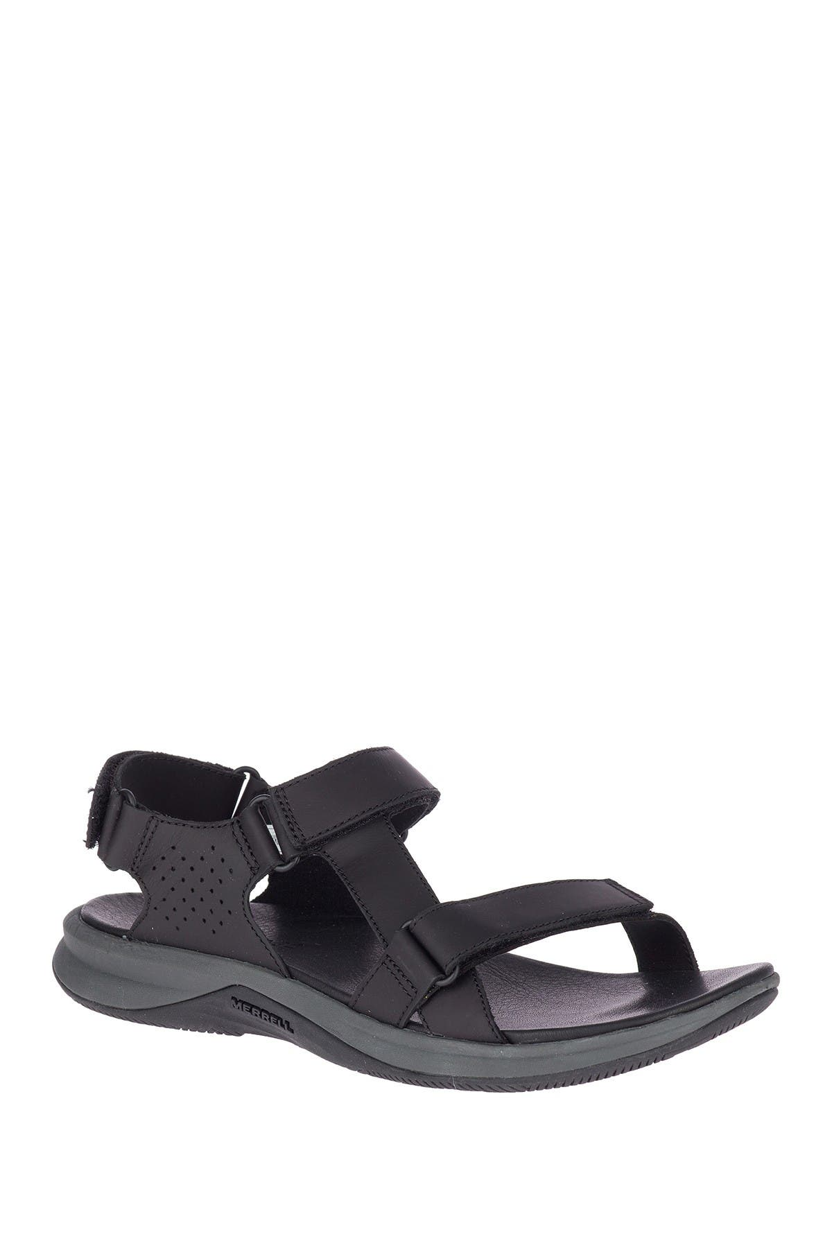 Image of Merrell Tideriser Luna Leather Strap Sandal