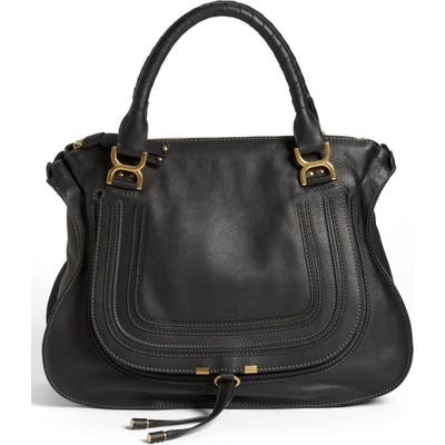 Chloe Large Marcie Leather Satchel -