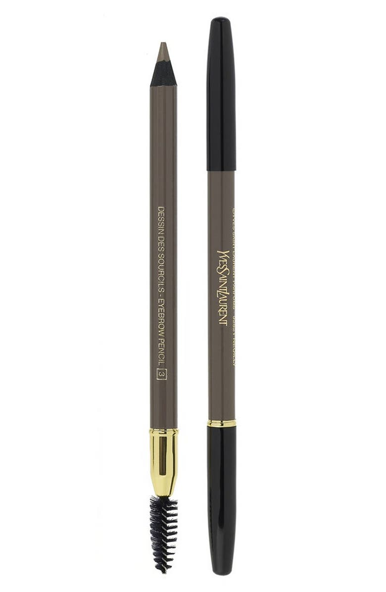 YVES SAINT LAURENT Eyebrow Pencil, Main, color, 004 ASH