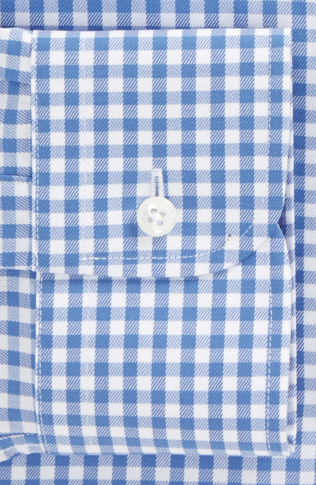 ,                             Traditional Fit Non-Iron Gingham Dress Shirt,                             Alternate thumbnail 16, color,                             450