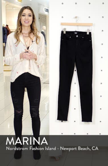 Transcend - Margot High Waist Ultra Skinny Jeans, sales video thumbnail