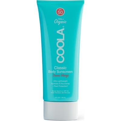 Coola Suncare Guava Mango Classic Body Organic Sunscreen Lotion Spf 50