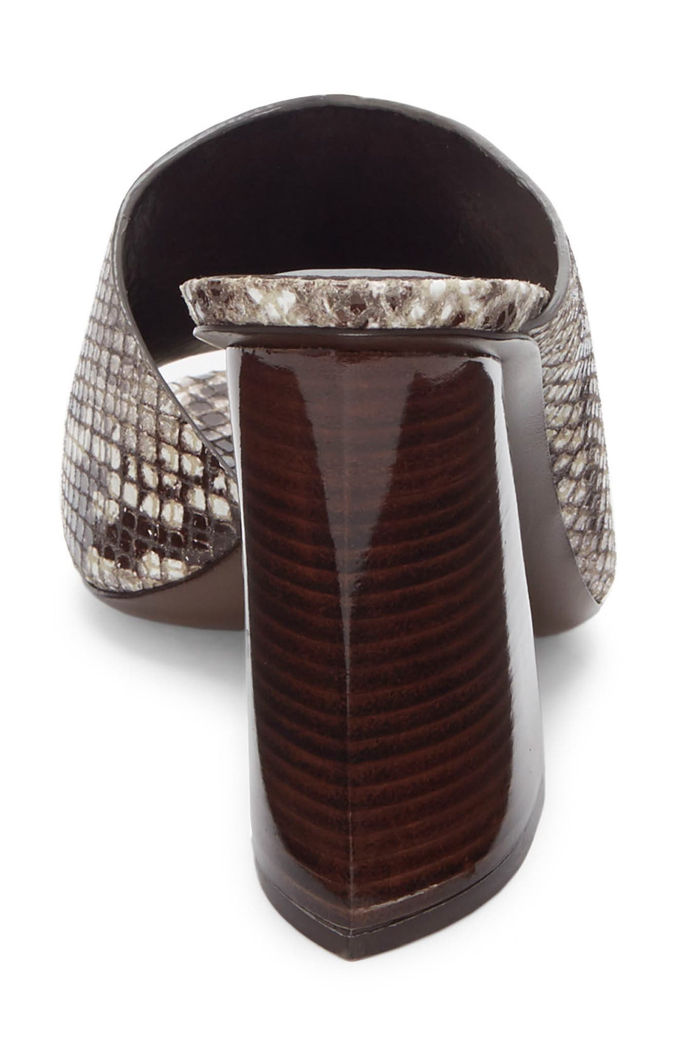 ,                             Izar Mule,                             Alternate thumbnail 7, color,                             TEAK PRINTED SNAKE