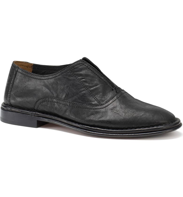TRASK Avery Loafer, Main, color, BLACK LEATHER