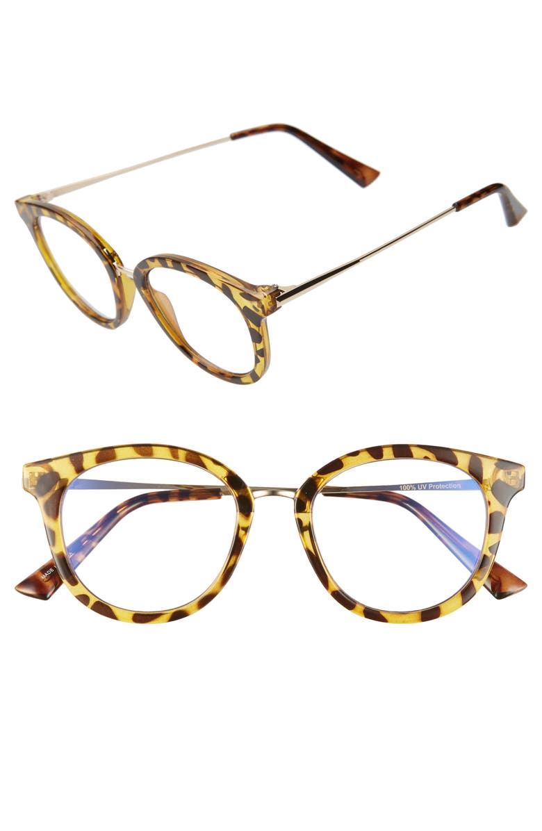 BP. 50mm Blue Light Blocking Glasses, Main, color, 210