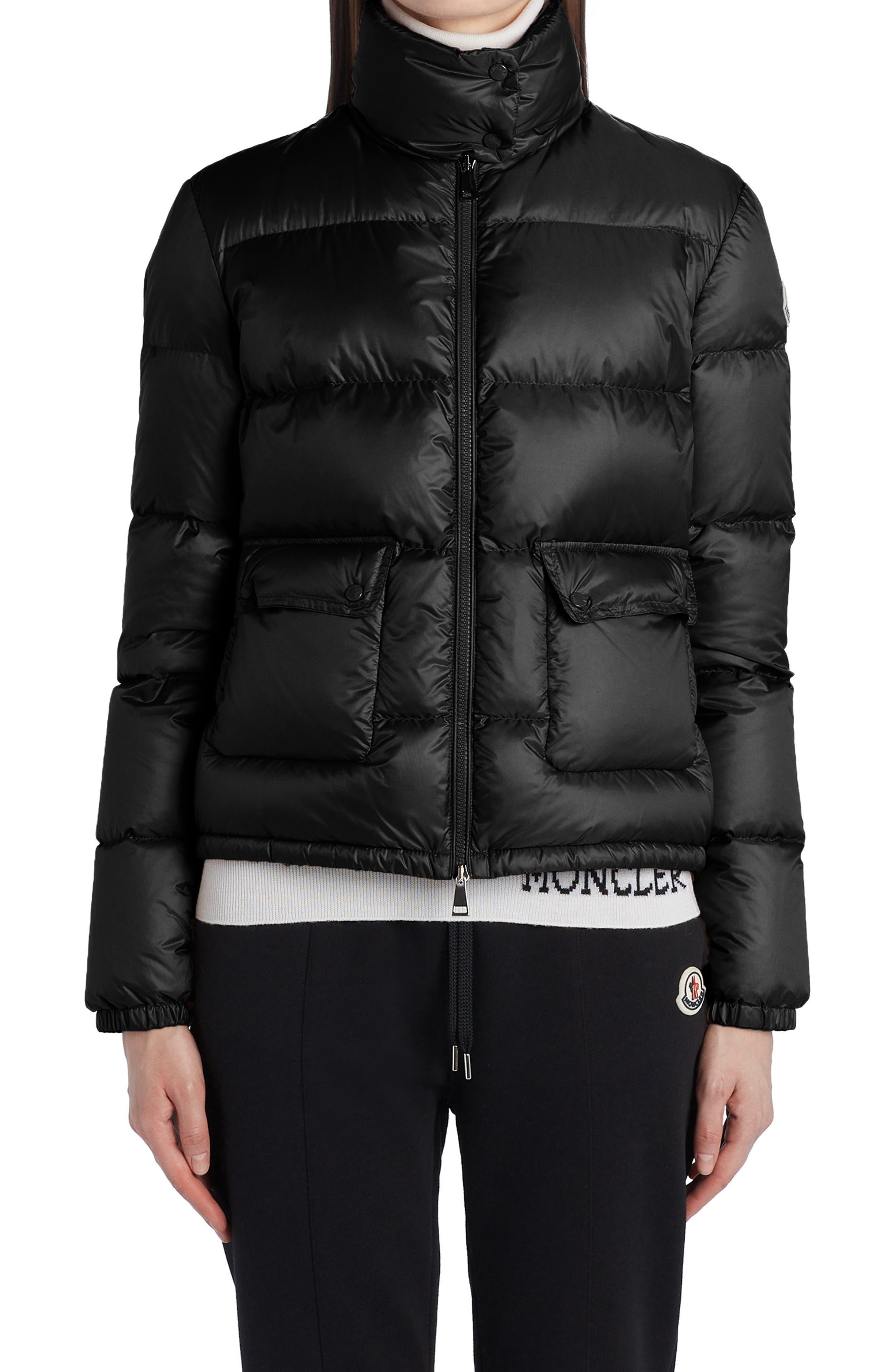 Women's Moncler Lannic Water Resistant Down Puffer Jacket